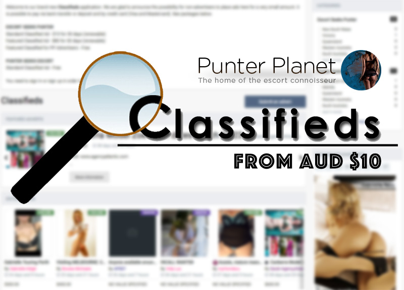 View and post Escorts Classifieds on Punter Planet