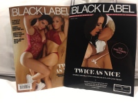 Vivienne Black & Cece Reign - Signed Blacklabel Magazines With Perverted Polaroid!